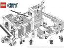 Coloriage Lego City : La Caserne Des Pompiers - Coloriage intérieur Jeux Gratuit De Pompier