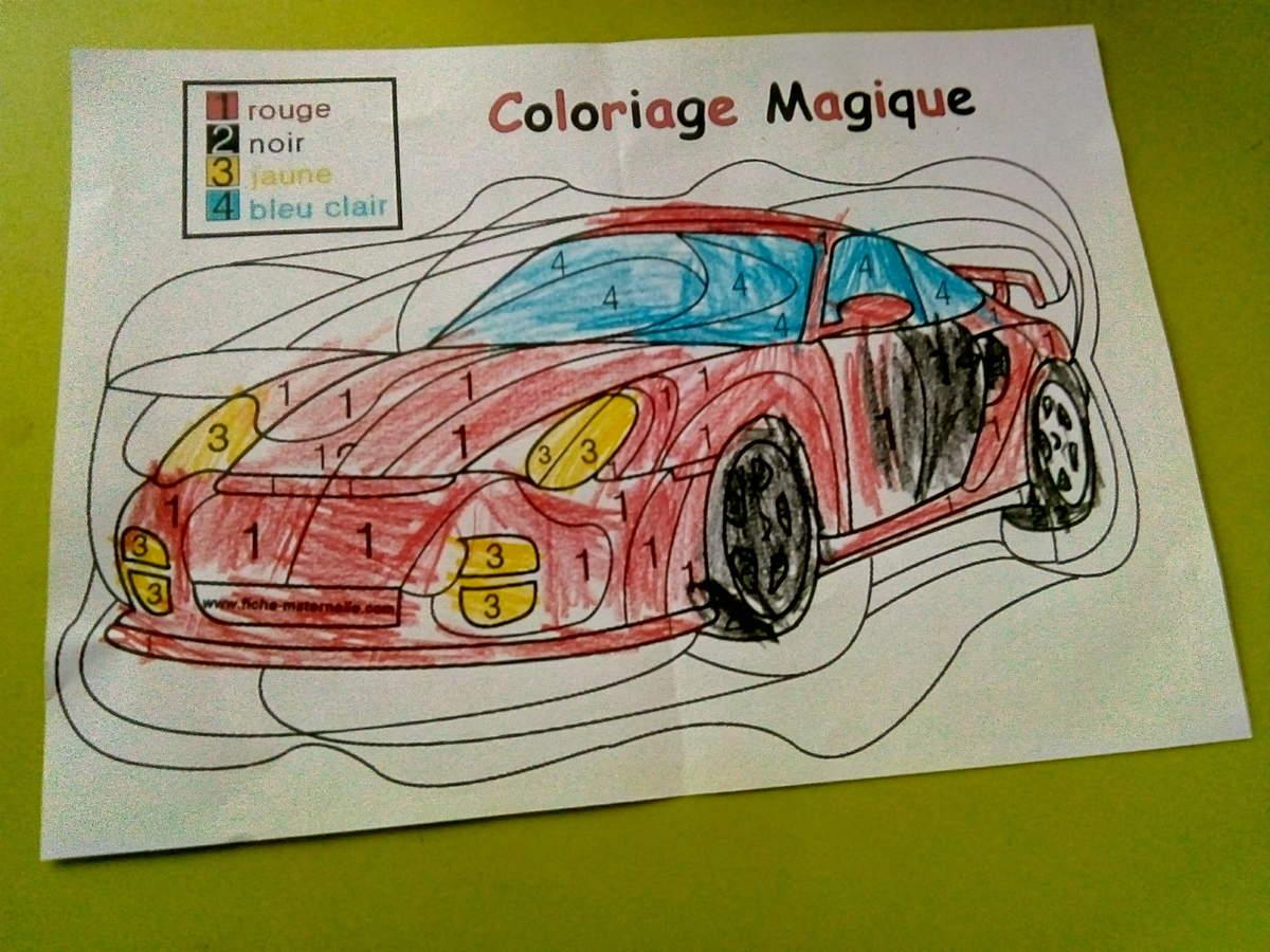 Coloriage Magique 2018 - intérieur Coloriage Magique 4 Ans