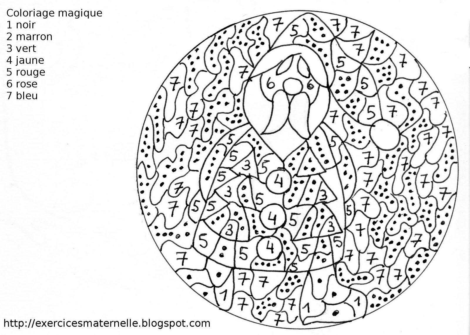 Coloriage Magique #97 (Éducatifs) – Coloriages À Imprimer tout Coloriage Magique Maternelle A Imprimer Gratuit