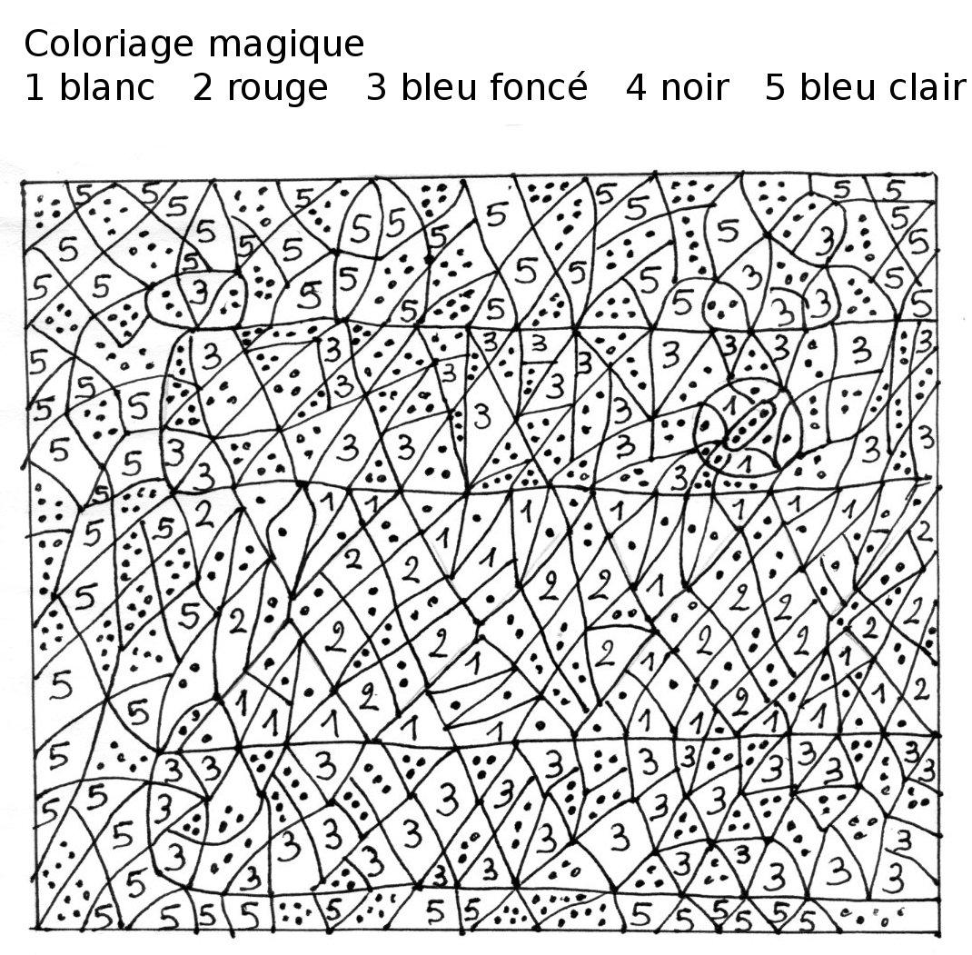 Coloriage Magique #99 (Éducatifs) – Coloriages À Imprimer intérieur Coloriage Numero A Imprimer