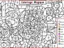 Coloriage Magique Chiffres Maternelle Dessin destiné Coloriage Magique Maternelle A Imprimer Gratuit