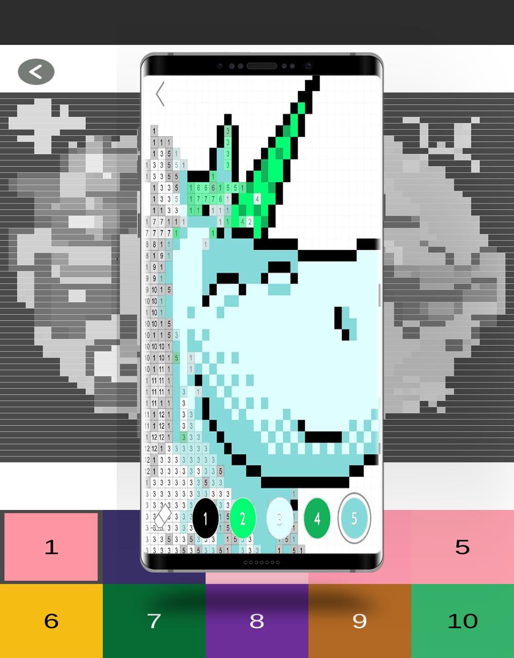 Coloriage Magique Gratuit - Color Pixel By Number For encequiconcerne Coloriage Pixel Gratuit