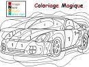 Coloriage Magique Pour Les Plus Petits : Une Auto concernant Coloriage Magique Maternelle A Imprimer Gratuit