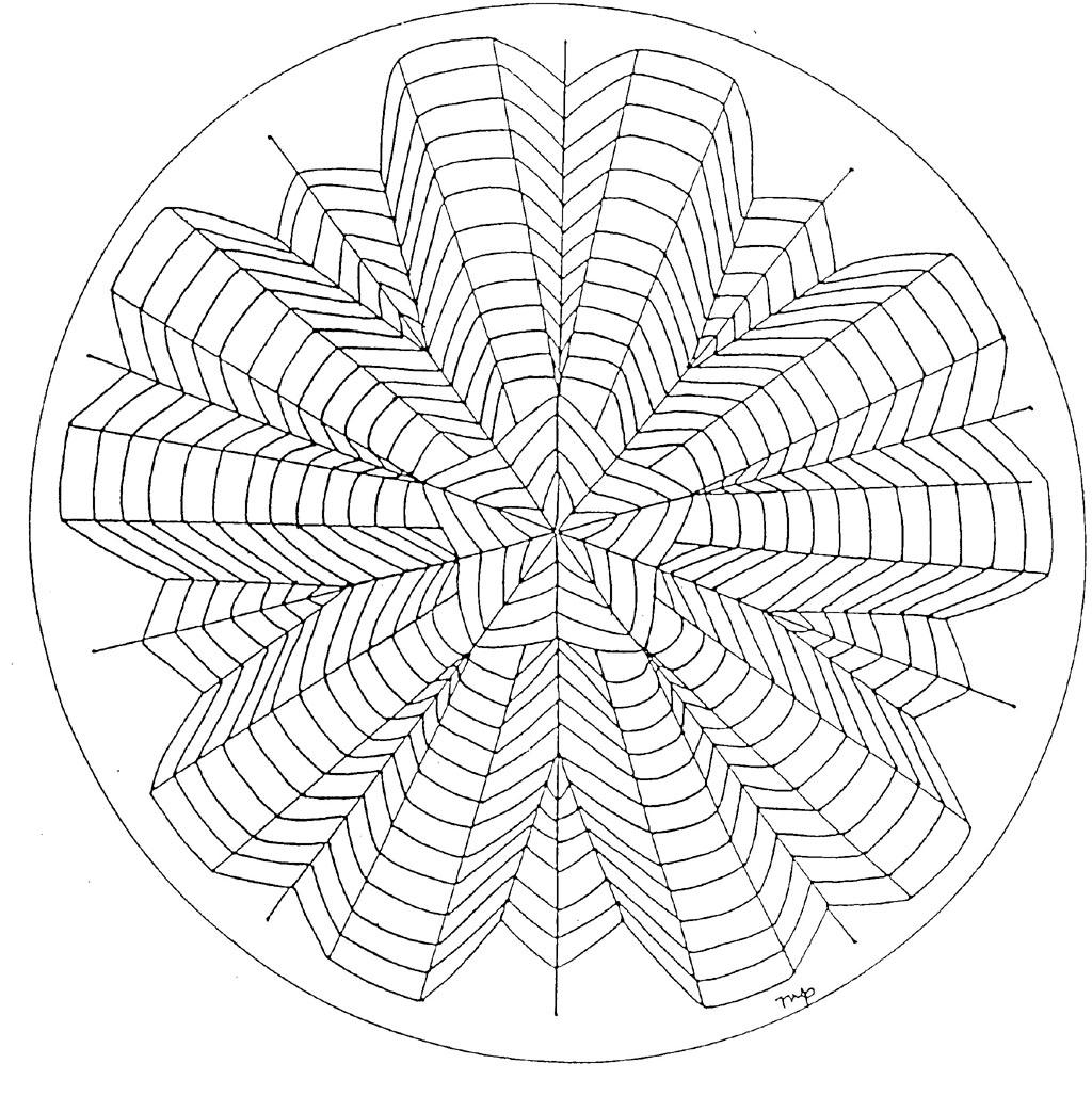 Coloriage Mandala À Imprimer Sur Coloriages serapportantà Coloriage De Mandala Difficile A Imprimer