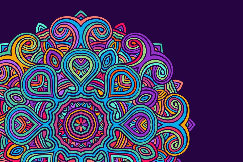 Coloriage Mandala À Imprimer Sur Hugolescargot dedans Jeux De Coloriage De Rosace