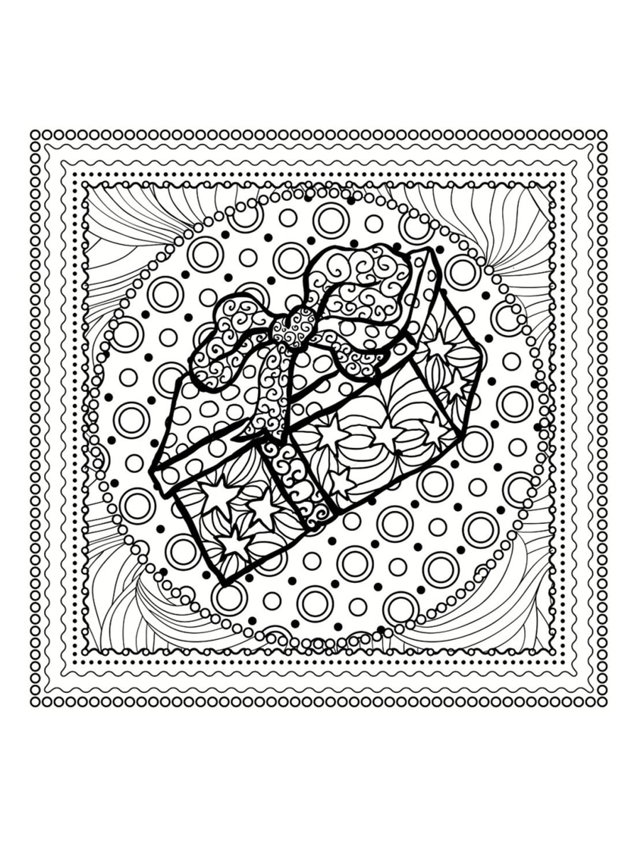 Coloriage Mandala De Noël : 30 Dessins À Imprimer à Dessiner Un Mandala