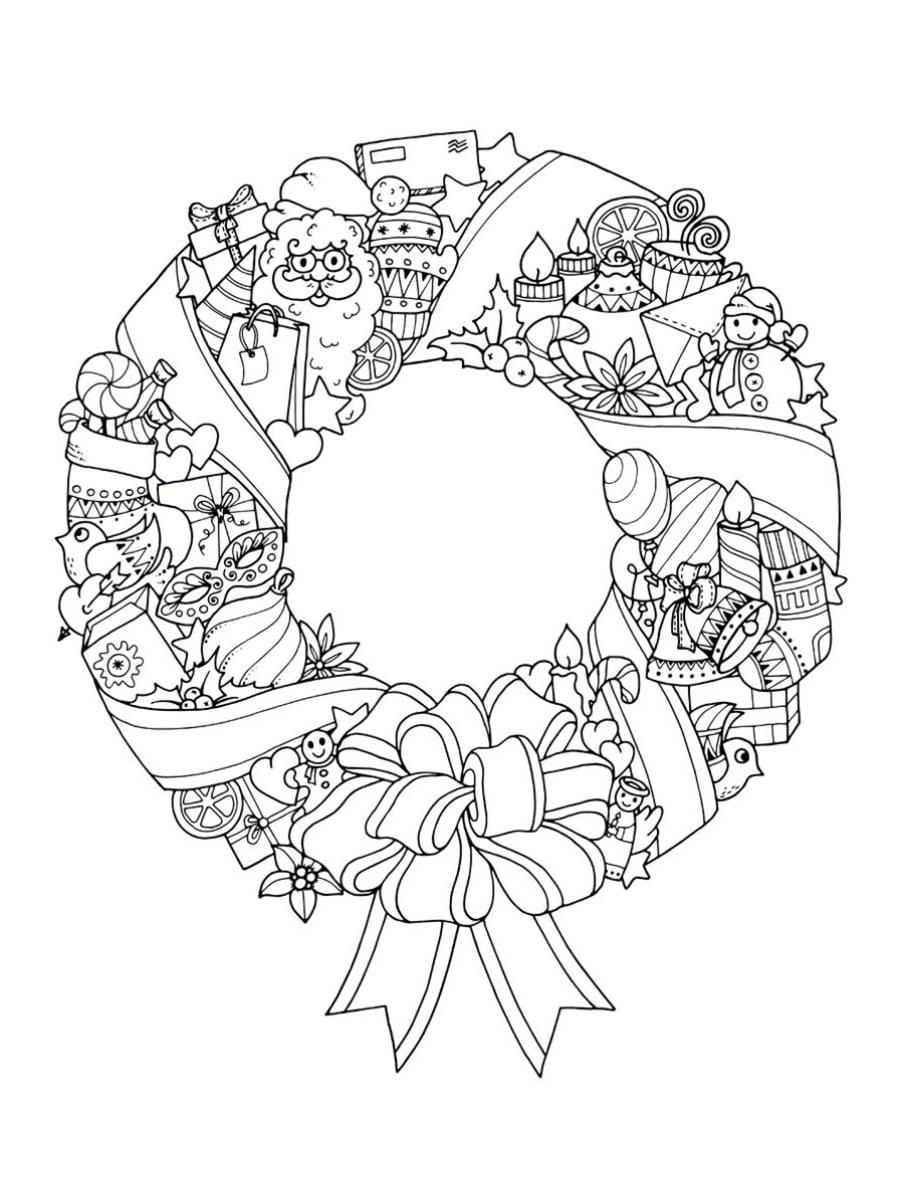 Coloriage Mandala De Noël : 30 Dessins À Imprimer avec Mandala À Imprimer Facile