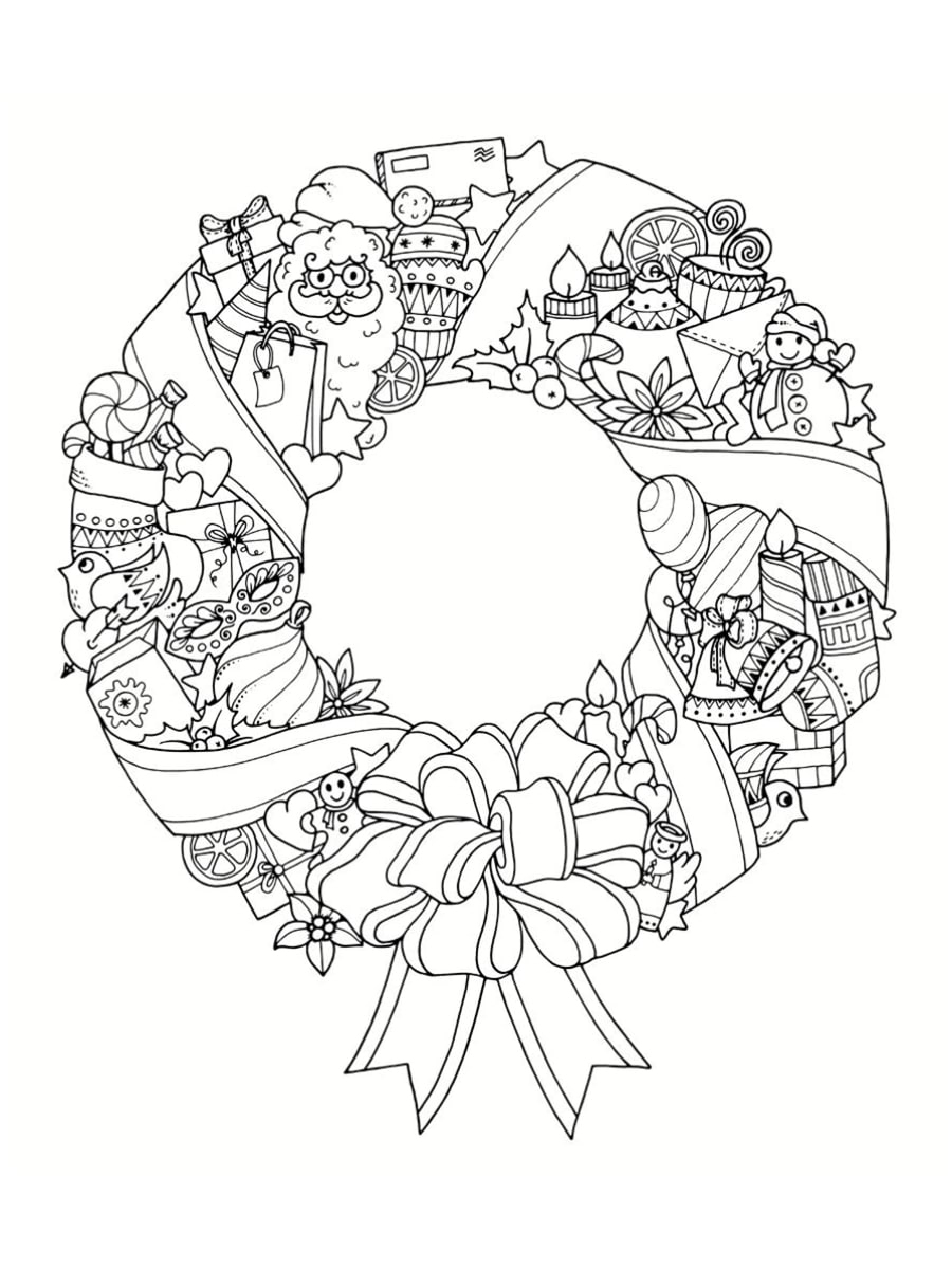 Coloriage Mandala De Noël : 30 Dessins À Imprimer destiné Jeux De Coloriage De Rosace