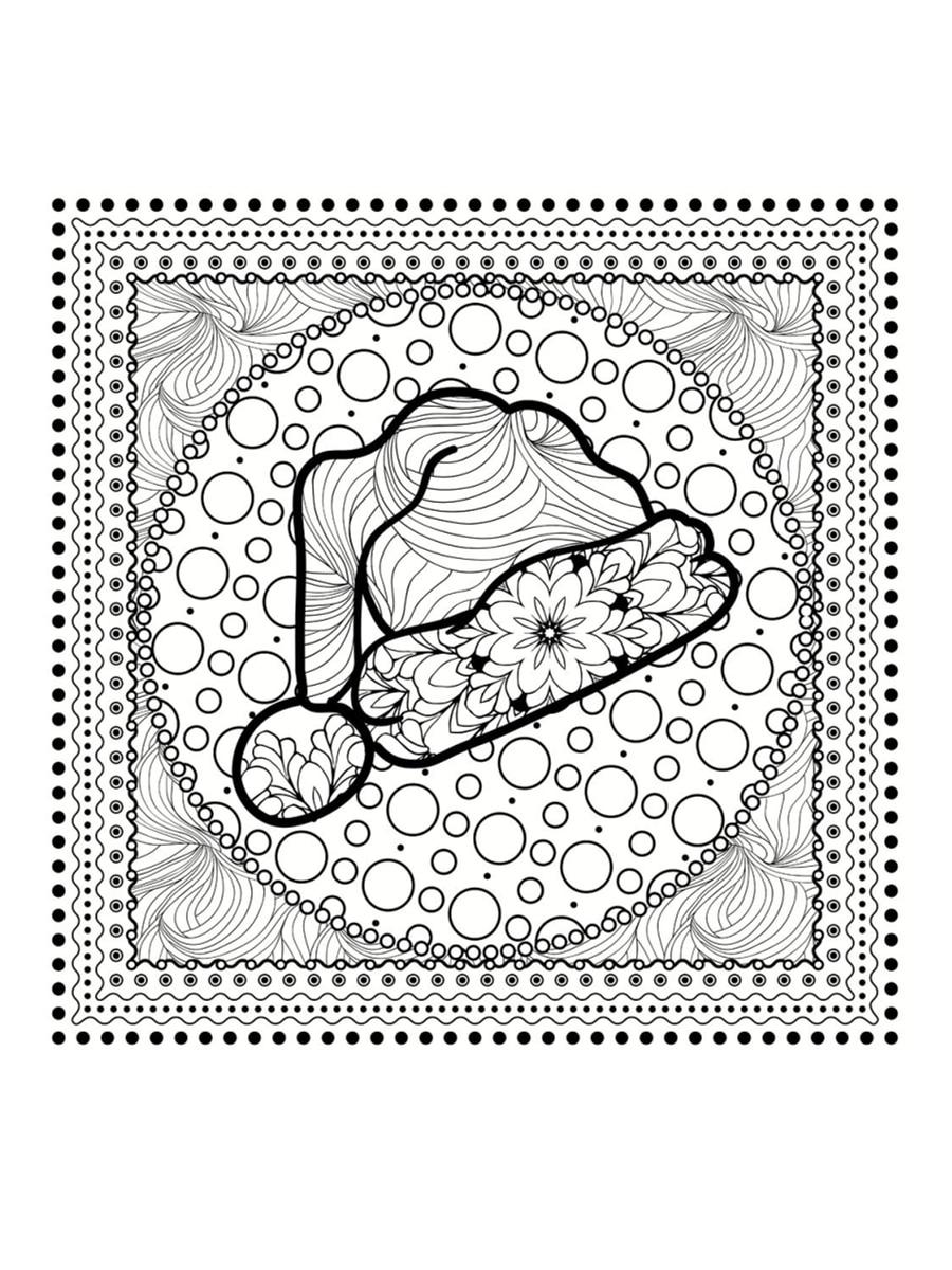 Coloriage Mandala De Noël : 30 Dessins À Imprimer pour Coloriage De Mandala Difficile A Imprimer