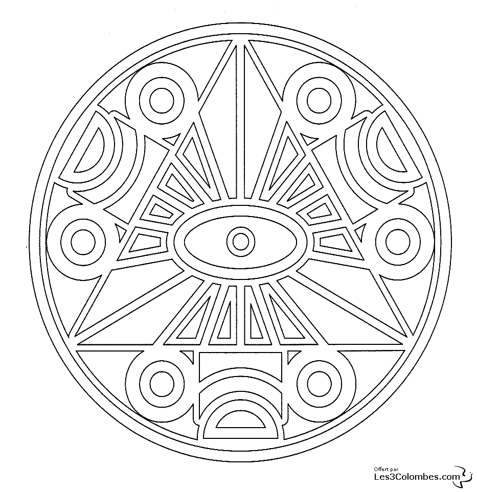 Coloriage Mandala Gratuit Hugo L'escargot à Hugo L Escargot Coloriage Mandala