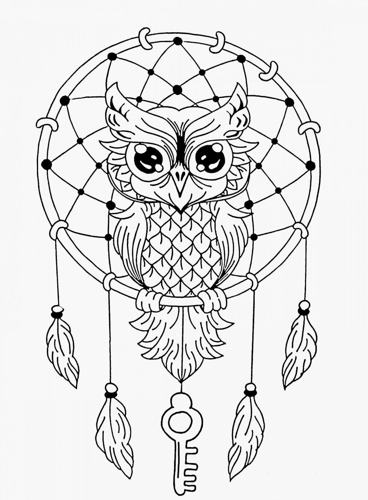 Coloriage Mandala Hiboux Facile | Coloriages À Imprimer Gratuits tout Dessin Hibou Facile