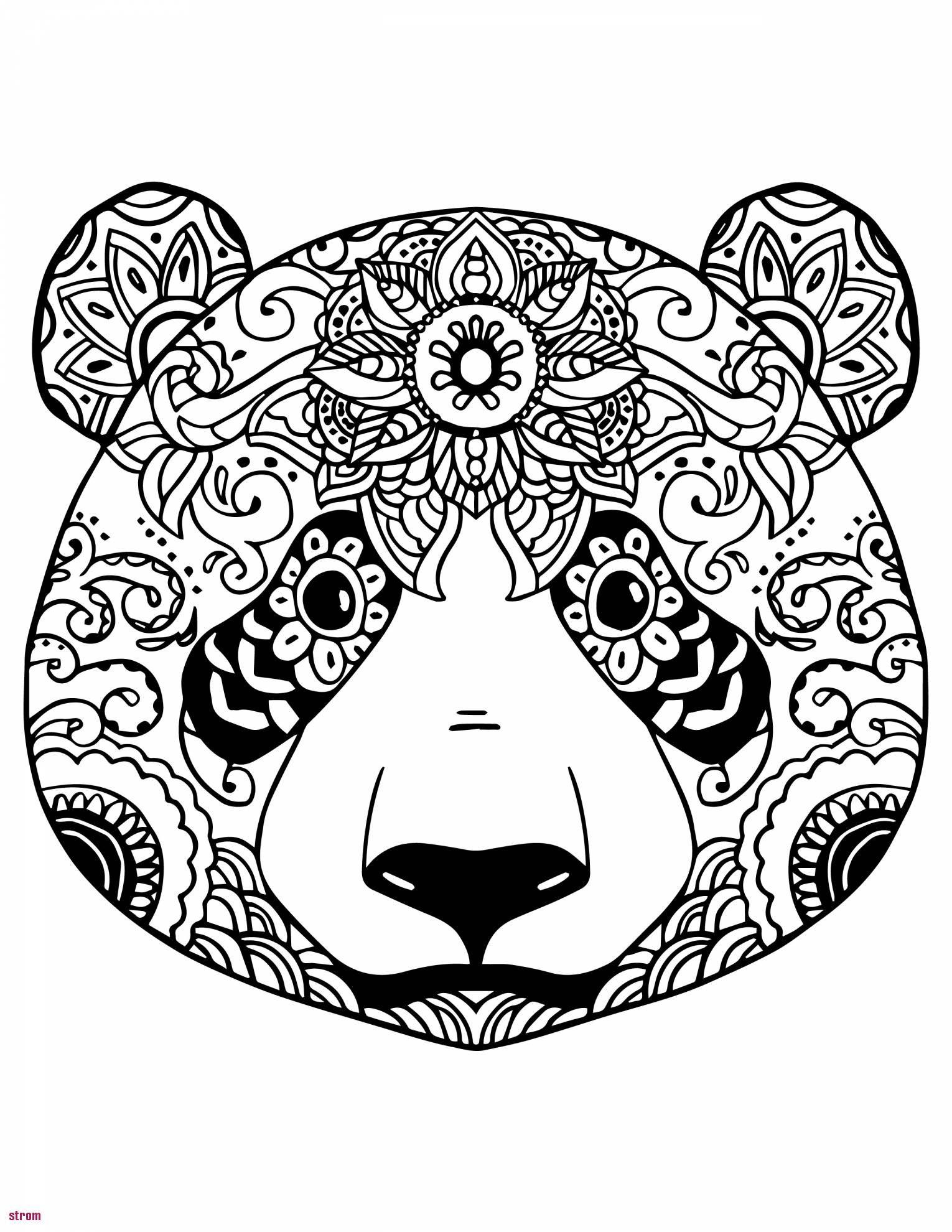 Coloriage Mandala Imprimer Gratuit Excellent Portrait Belle pour Mandala À Imprimer Facile