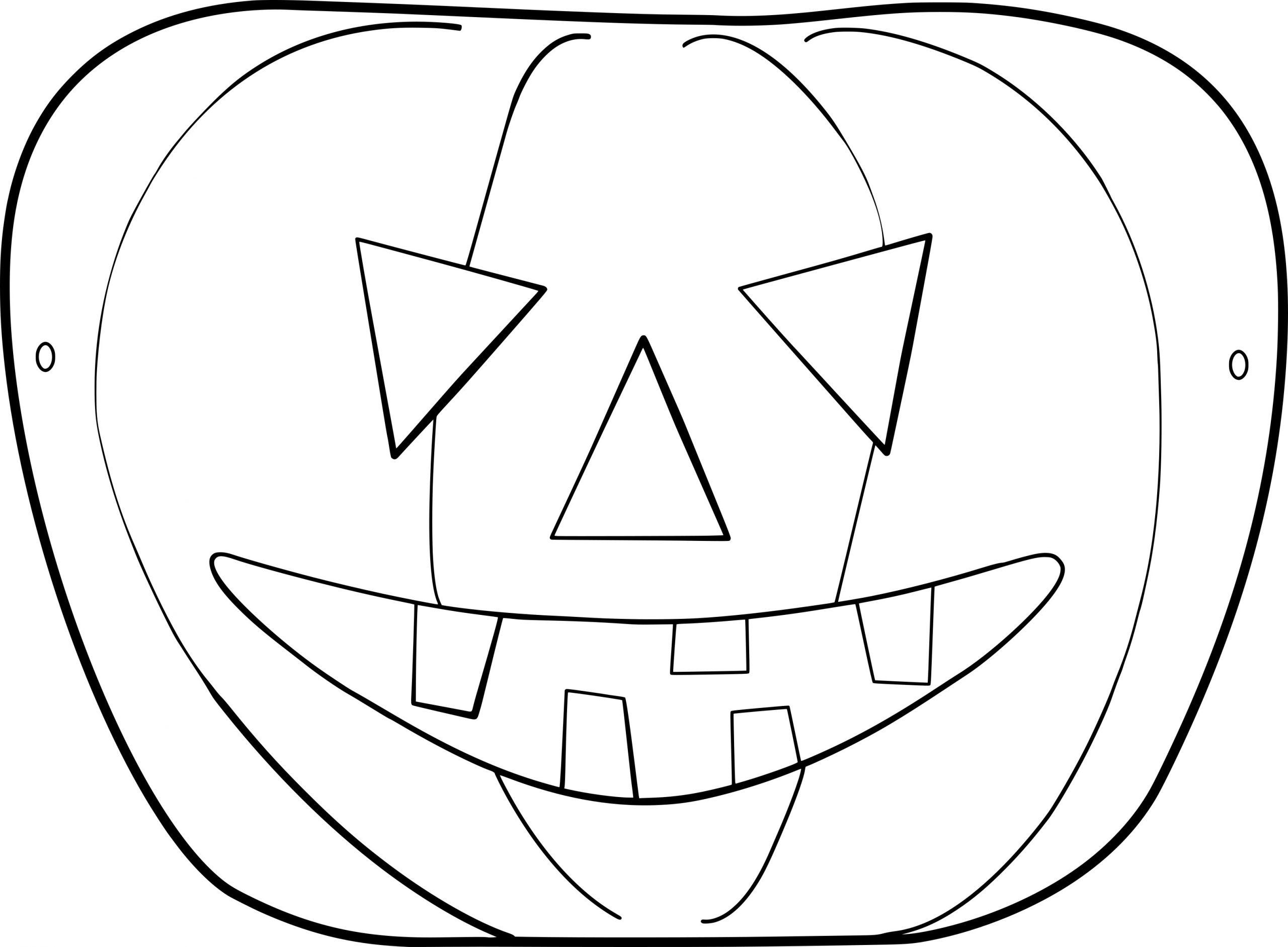 Coloriage Masque Pour Halloween À Imprimer serapportantà Masque Loup A Colorier