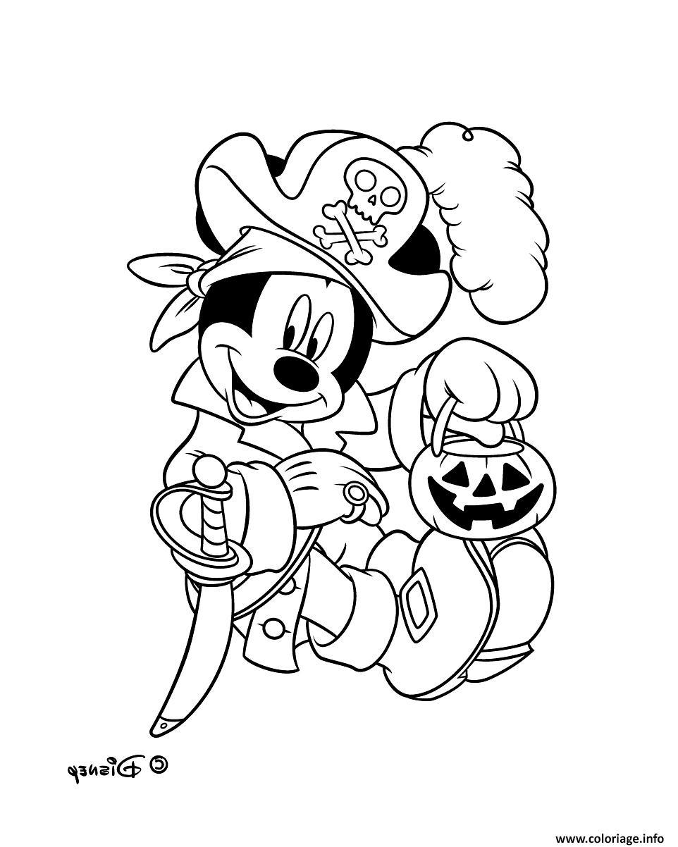 Coloriage Mickey Mouse Pirate Disney Dessin avec Dessin A Imprimer De Pirate