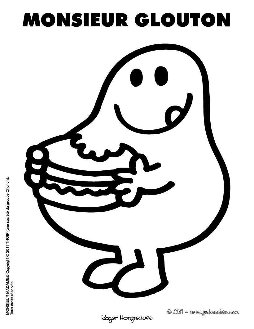 Coloriage Monsieur Patate - Les Beaux Dessins De Dessin encequiconcerne Coloriage Mr Patate