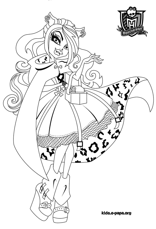 Coloriage Monster High Baby - Les Beaux Dessins De Meilleurs encequiconcerne Image Monster High A Imprimer