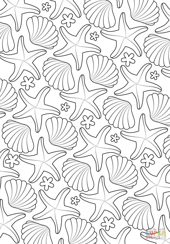 Coloriage - Motif Marin | Coloriages À Imprimer Gratuits destiné Sudoku A Imprimer
