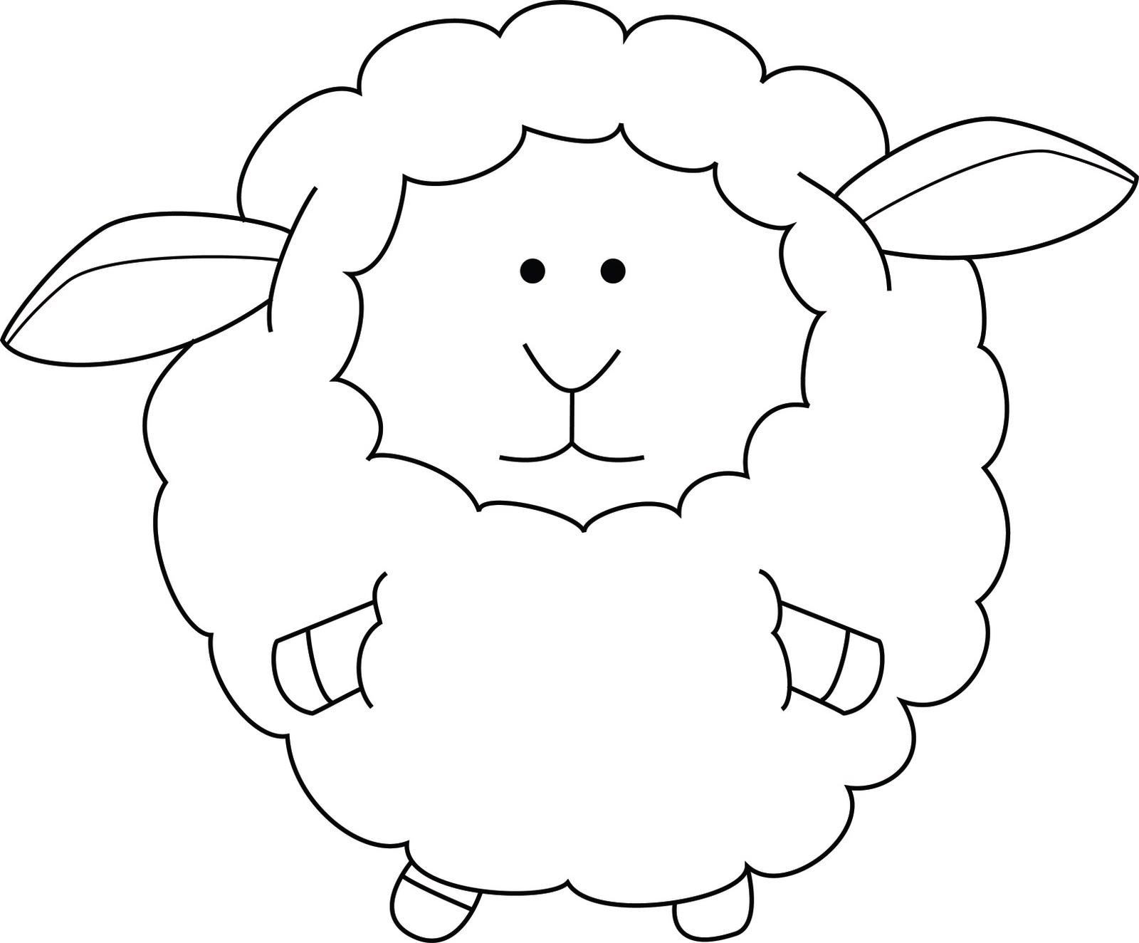 Coloriage Mouton - Les Beaux Dessins De Animaux À Imprimer à Photo De Mouton A Imprimer