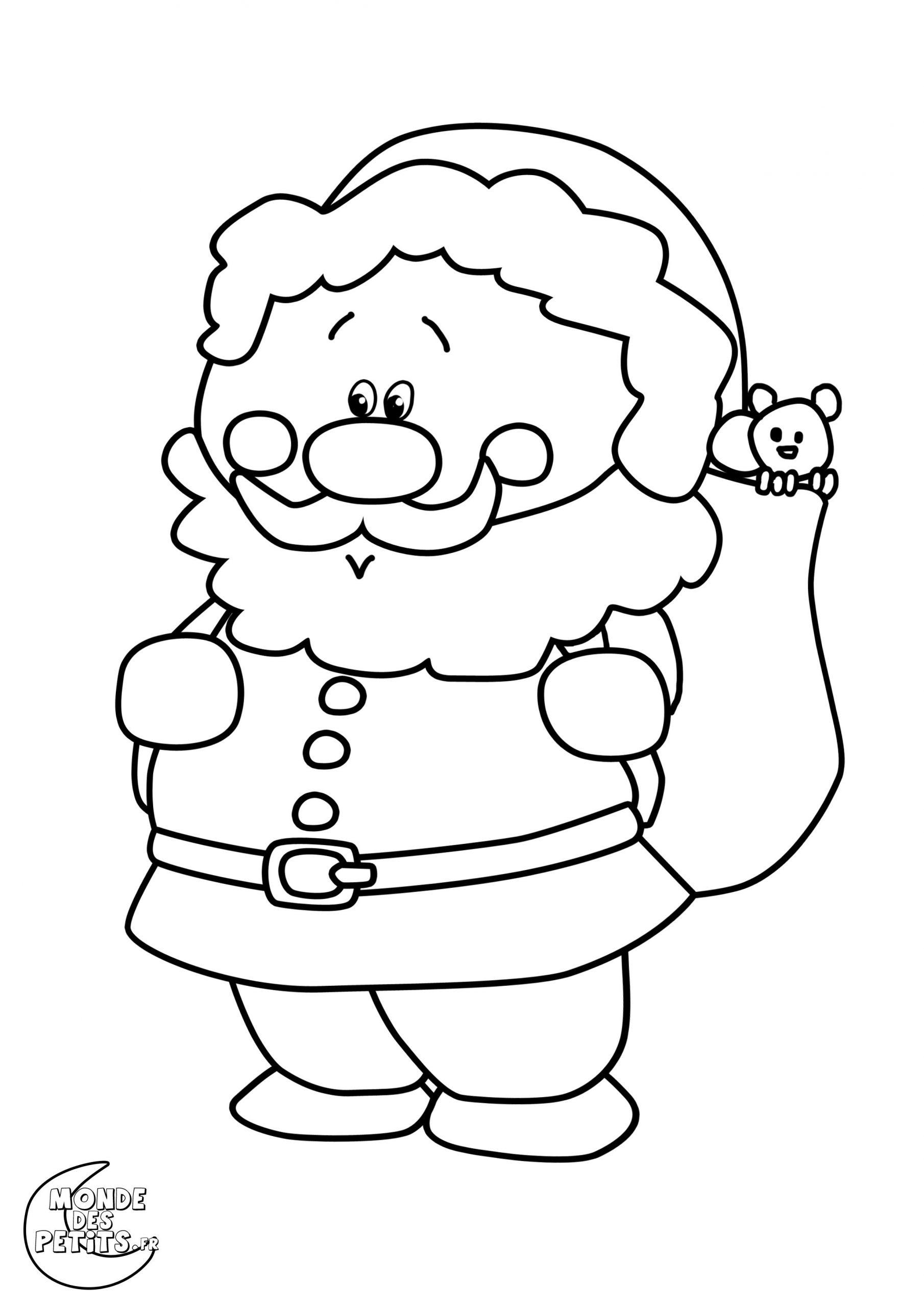 Coloriage-Noel-Pere (2480×3508) | Coloriage Noel dedans Coloriage De Pere Noel A Imprimer Gratuitement