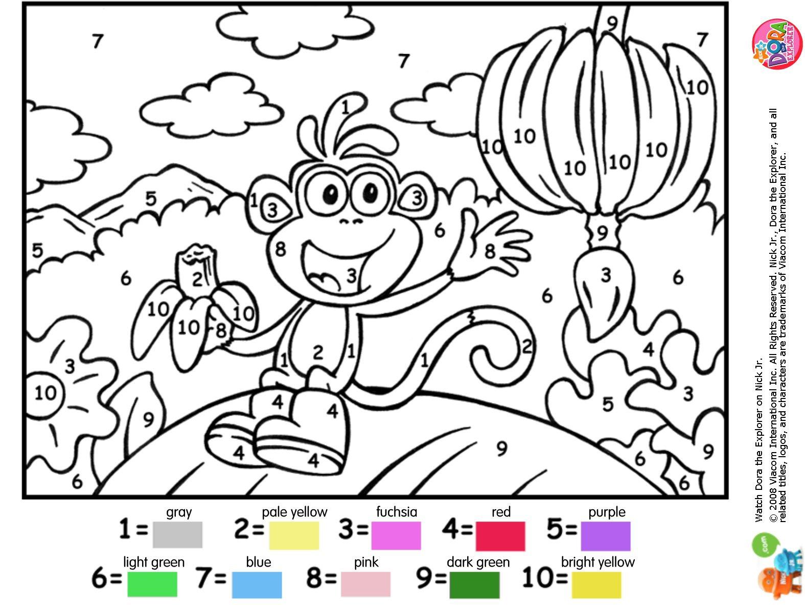 Coloriage Numéroté À Imprimer pour Coloriage Numero A Imprimer