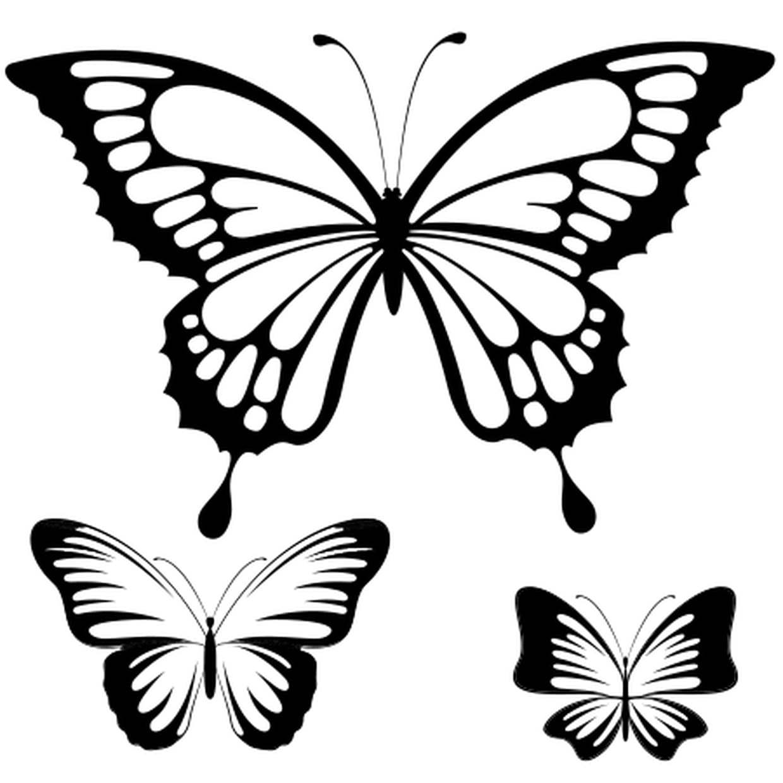 Coloriage Papillon Dessin En Ligne Gratuit À Imprimer serapportantà Dessin Papillon À Colorier