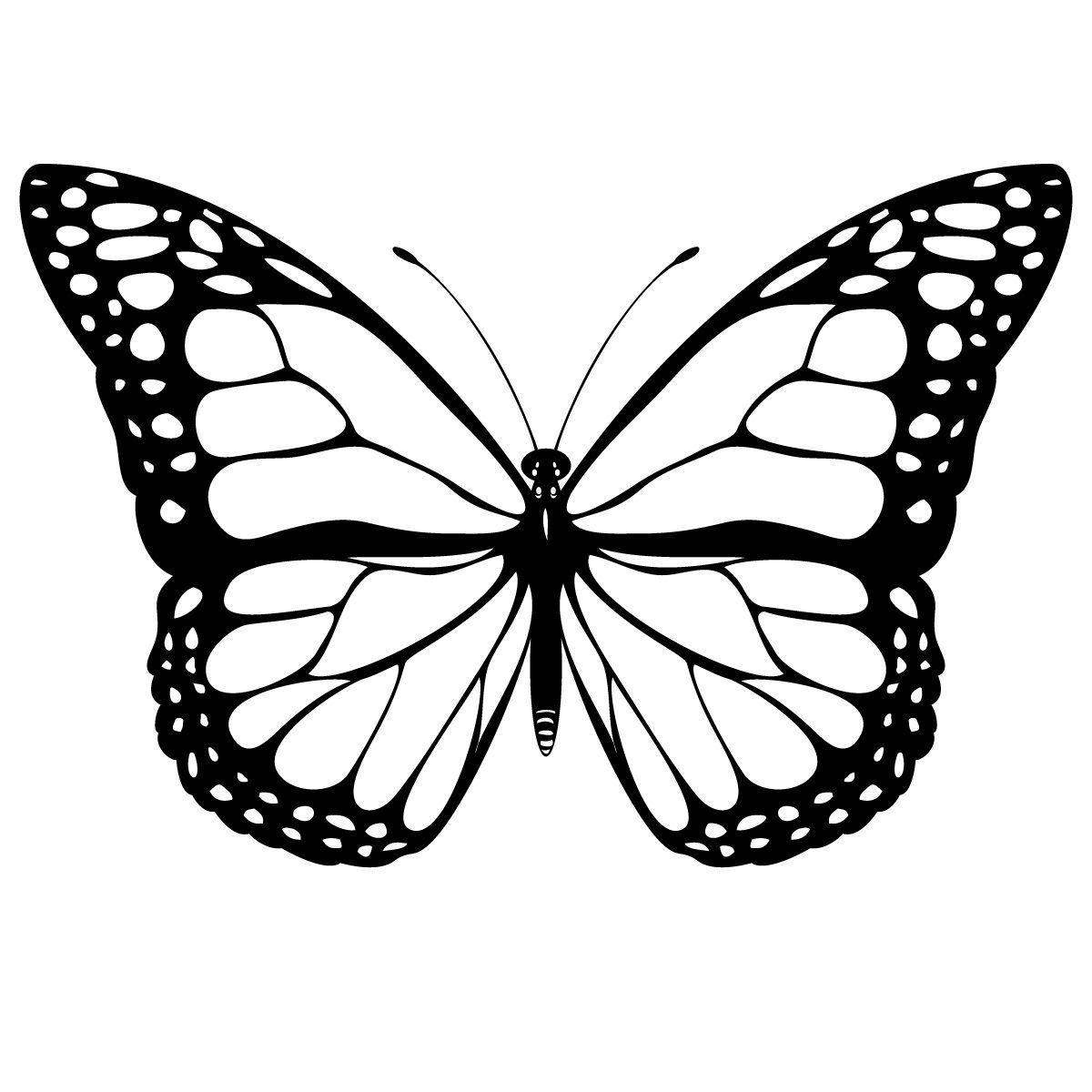 Coloriage Papillon - Les Beaux Dessins De Animaux À Imprimer dedans Dessin Papillon À Colorier