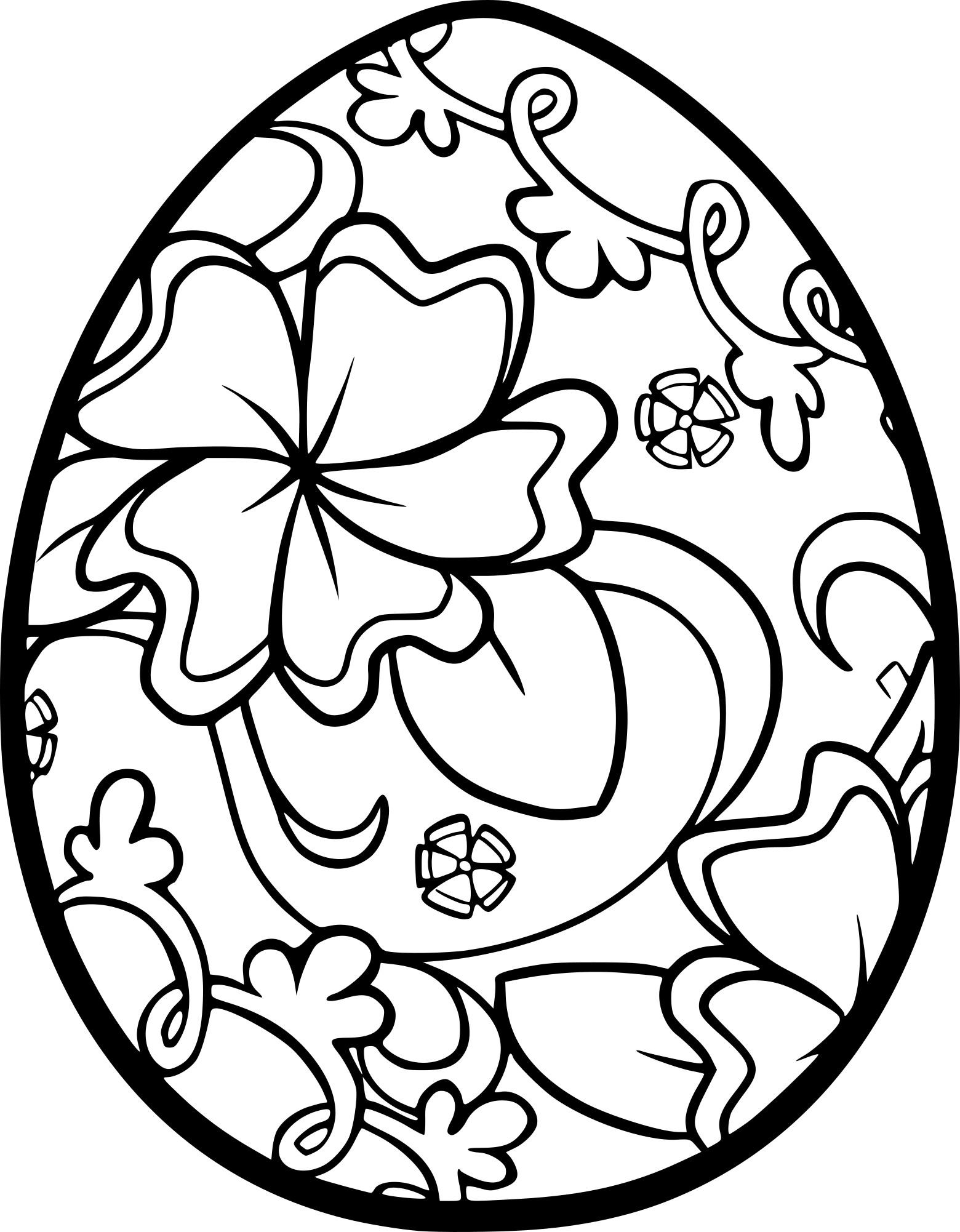 Coloriage Pâques Adulte À Imprimer Sur Coloriages intérieur Dessin Pour Paques
