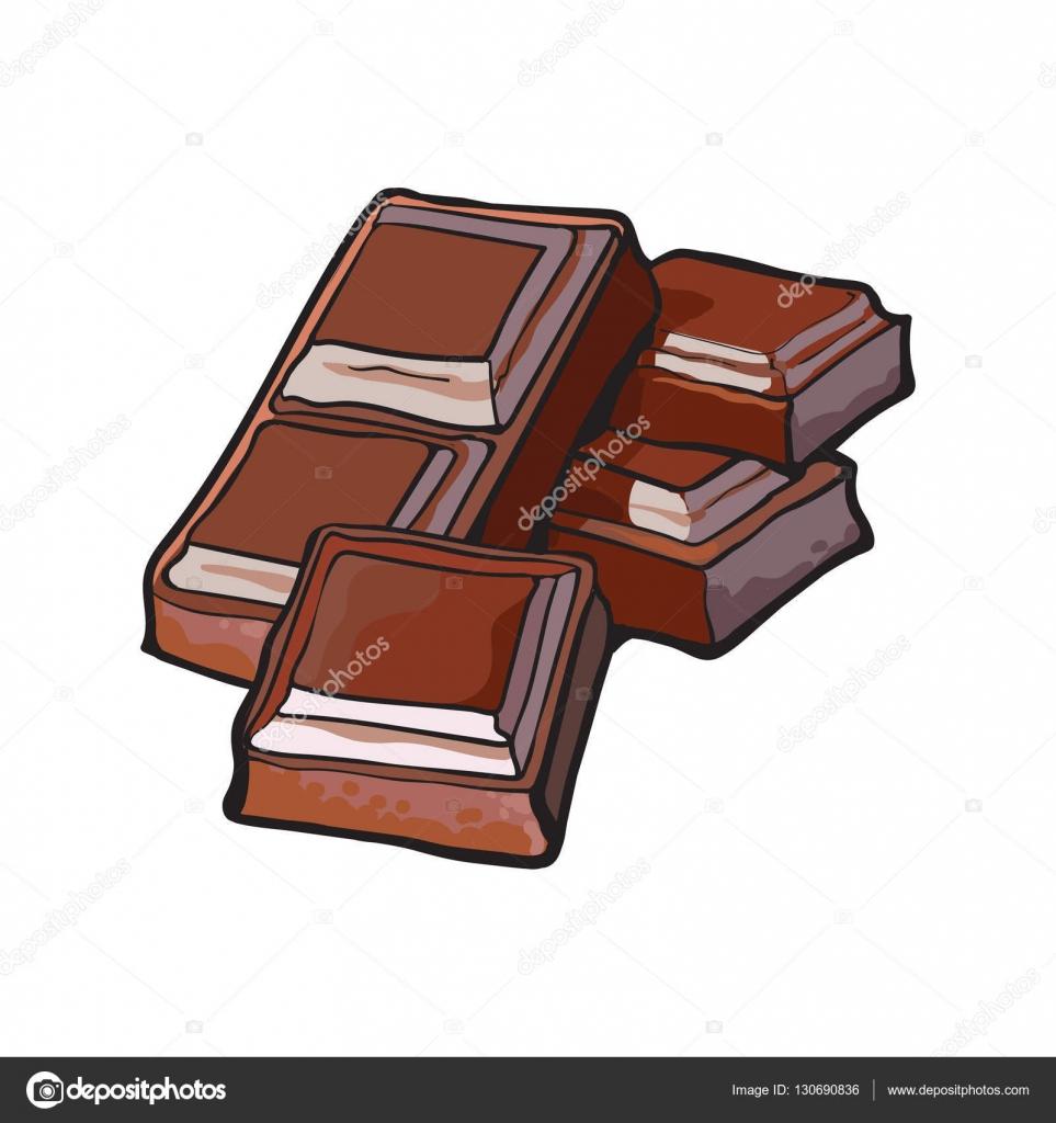 Coloriage Paques. Dessin Anim Caractre Chocolat Avec Visage pour Tablette Chocolat Dessin