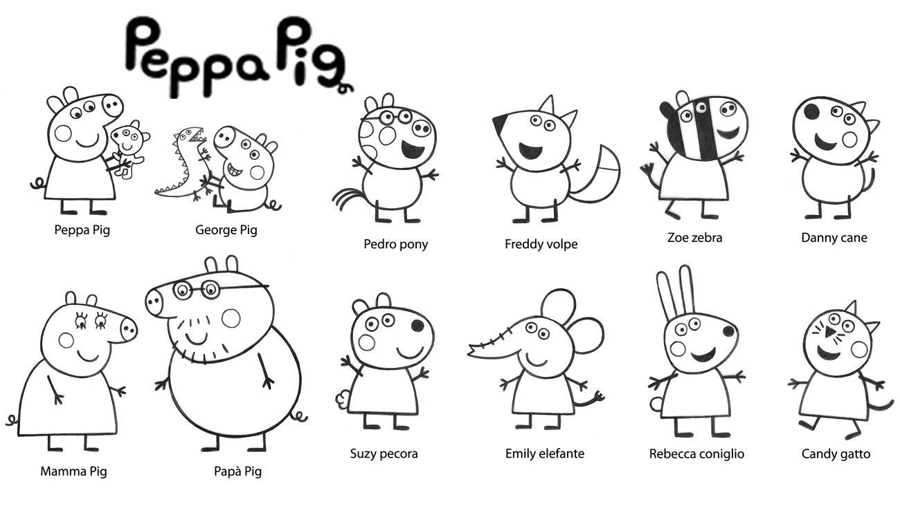 Coloriage Peppa Pig - Les Beaux Dessins De Dessin Animé À encequiconcerne Peppa Pig A Colorier