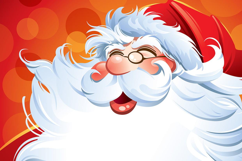 Coloriage Père Noël Gratuit À Imprimer Sur Hugolescargot encequiconcerne Coloriage De Père Noel Gratuit A Imprimer