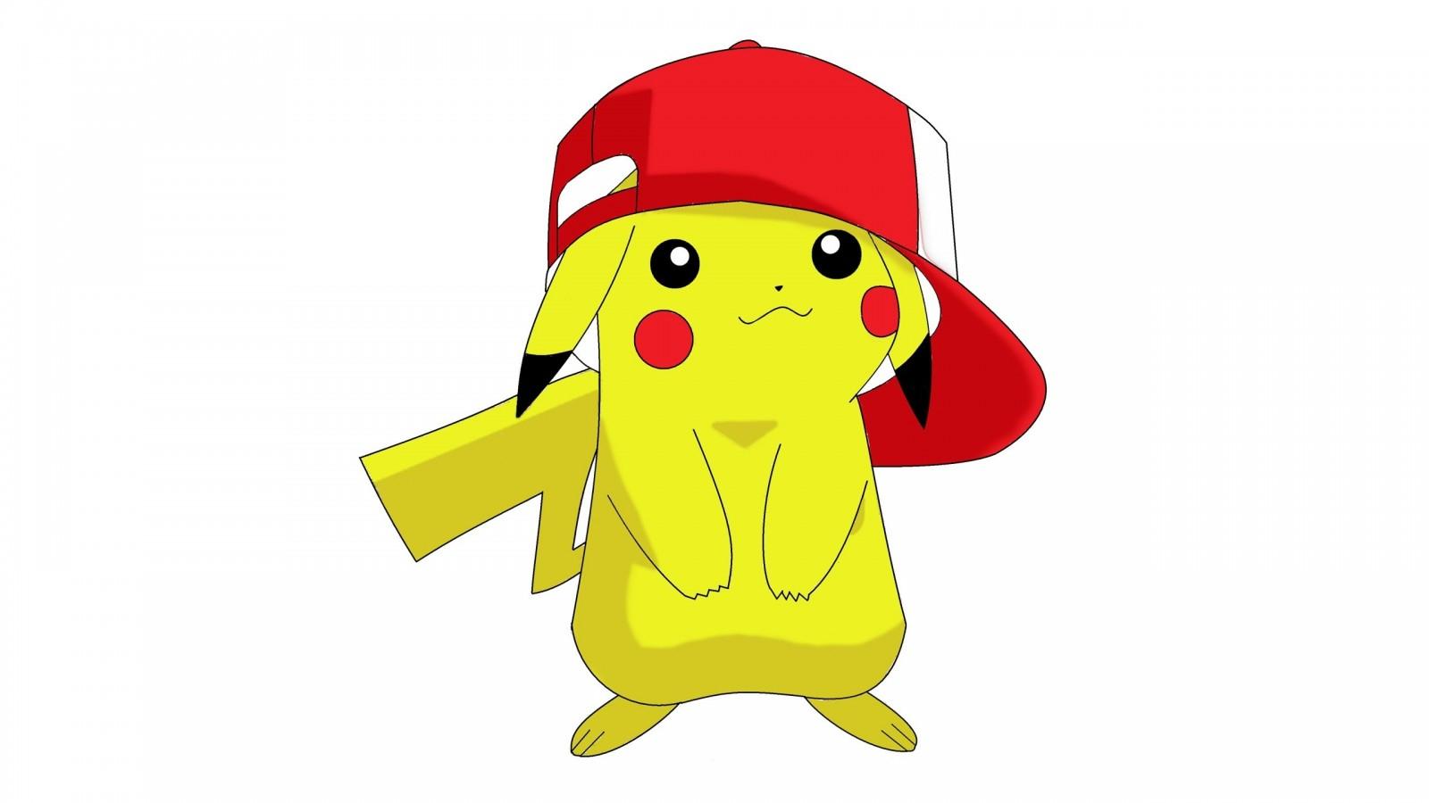 Coloriage Pikachu Avec Une Casquette De Baseball à Dessin De Pikachu Facile