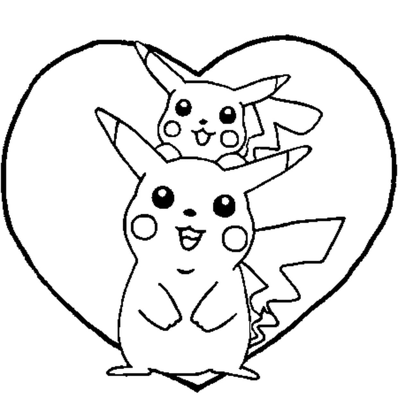 Coloriage Pikachu En Ligne Gratuit À Imprimer pour Dessin De Pikachu Facile