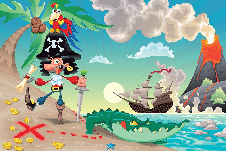 Coloriage Pirate Sur Hugolescargot concernant Dessin A Imprimer De Pirate