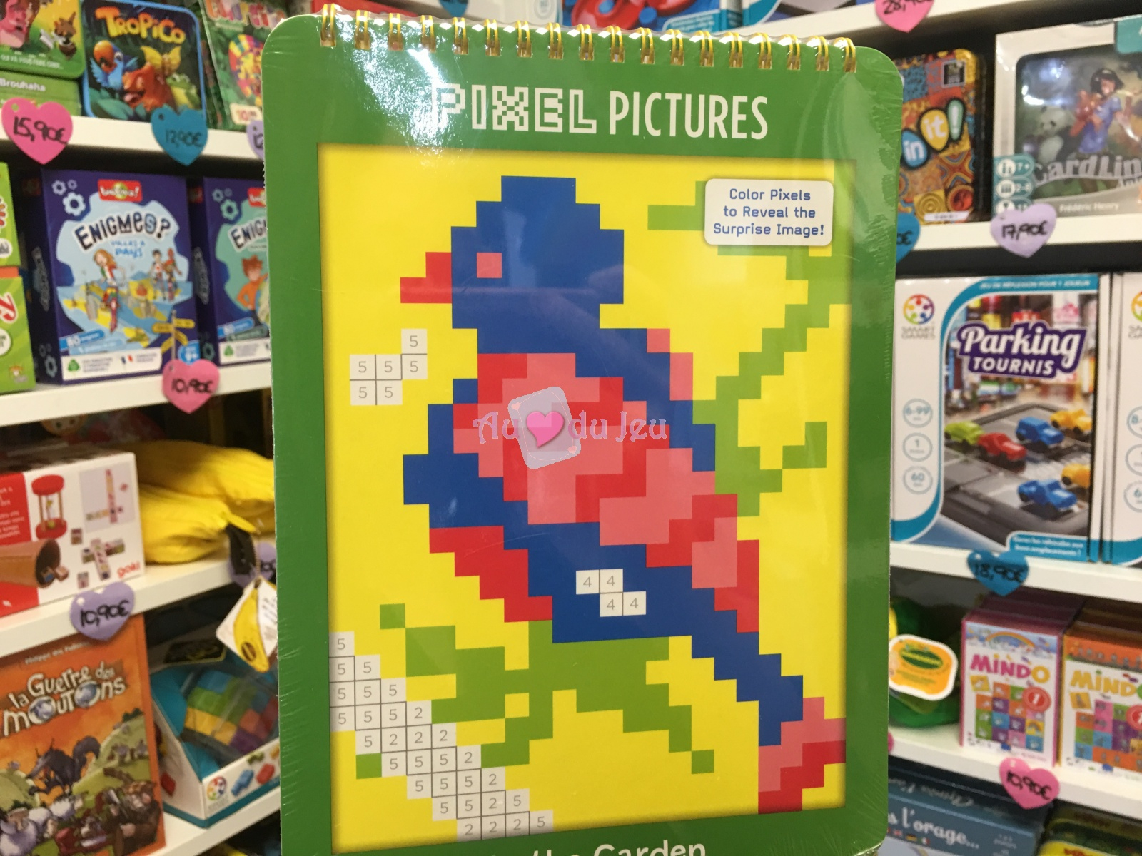 Coloriage Pixel Jardin à Jeu De Coloriage Pixel