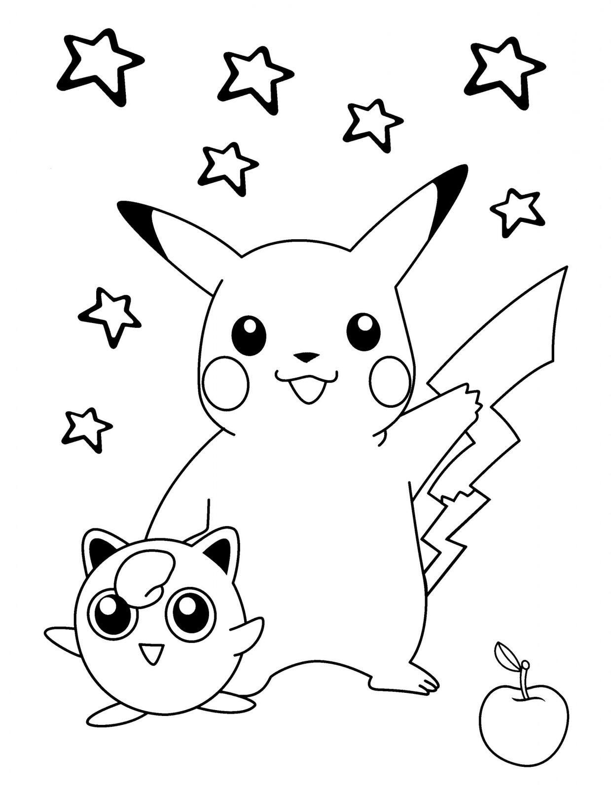 Coloriage Pokemon Pour Enfant | Coloriages À Imprimer Gratuits intérieur Dessin Pour Enfant À Colorier