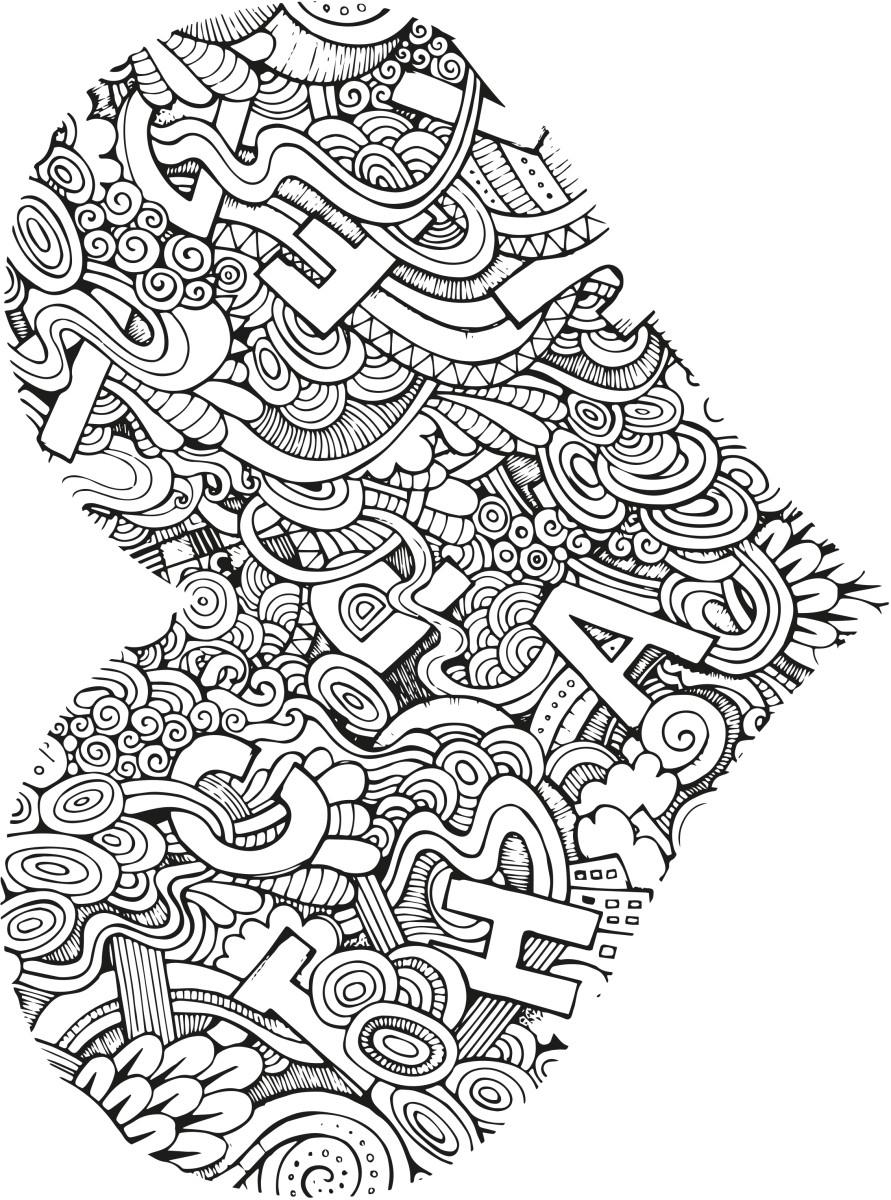 Coloriage Pour Adultes Imprimé Avec Logo | Van Helden Objets encequiconcerne Jeux Des Différences À Imprimer Pour Adultes
