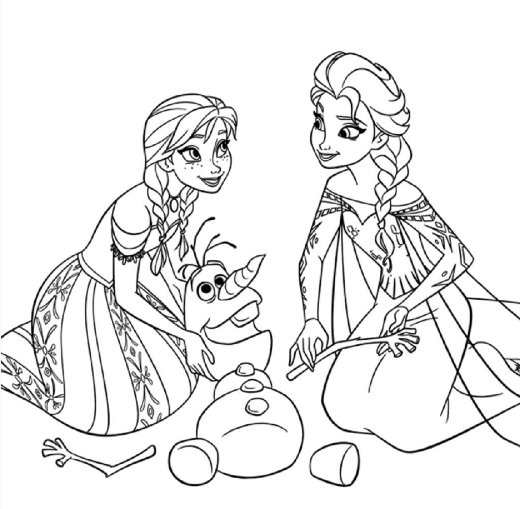 Coloriage Princesse À Imprimer (Disney, Reine Des Neiges, ) avec Image A Colorier Gratuit A Imprimer