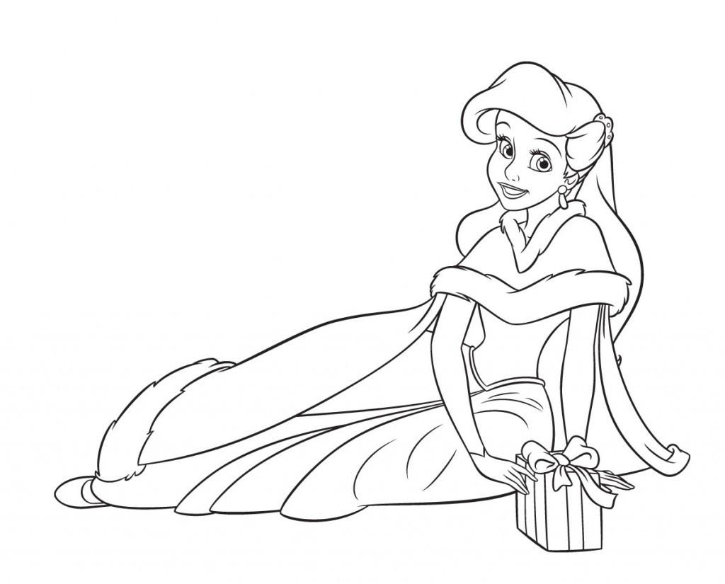 Coloriage Princesse À Imprimer (Disney, Reine Des Neiges, ) destiné Coloriage Princesses Disney À Imprimer