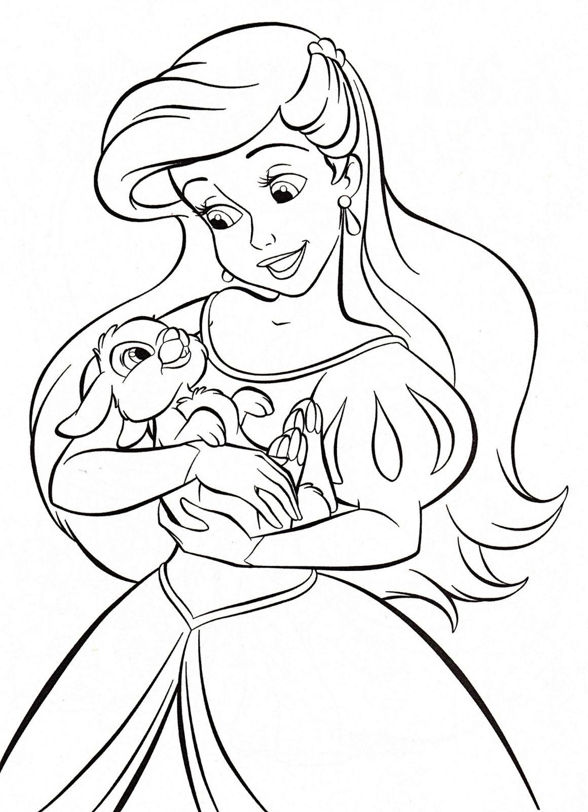Coloriage Princesse De Walt Disney | Coloriages À Imprimer serapportantà Dessin Walt Disney À Imprimer
