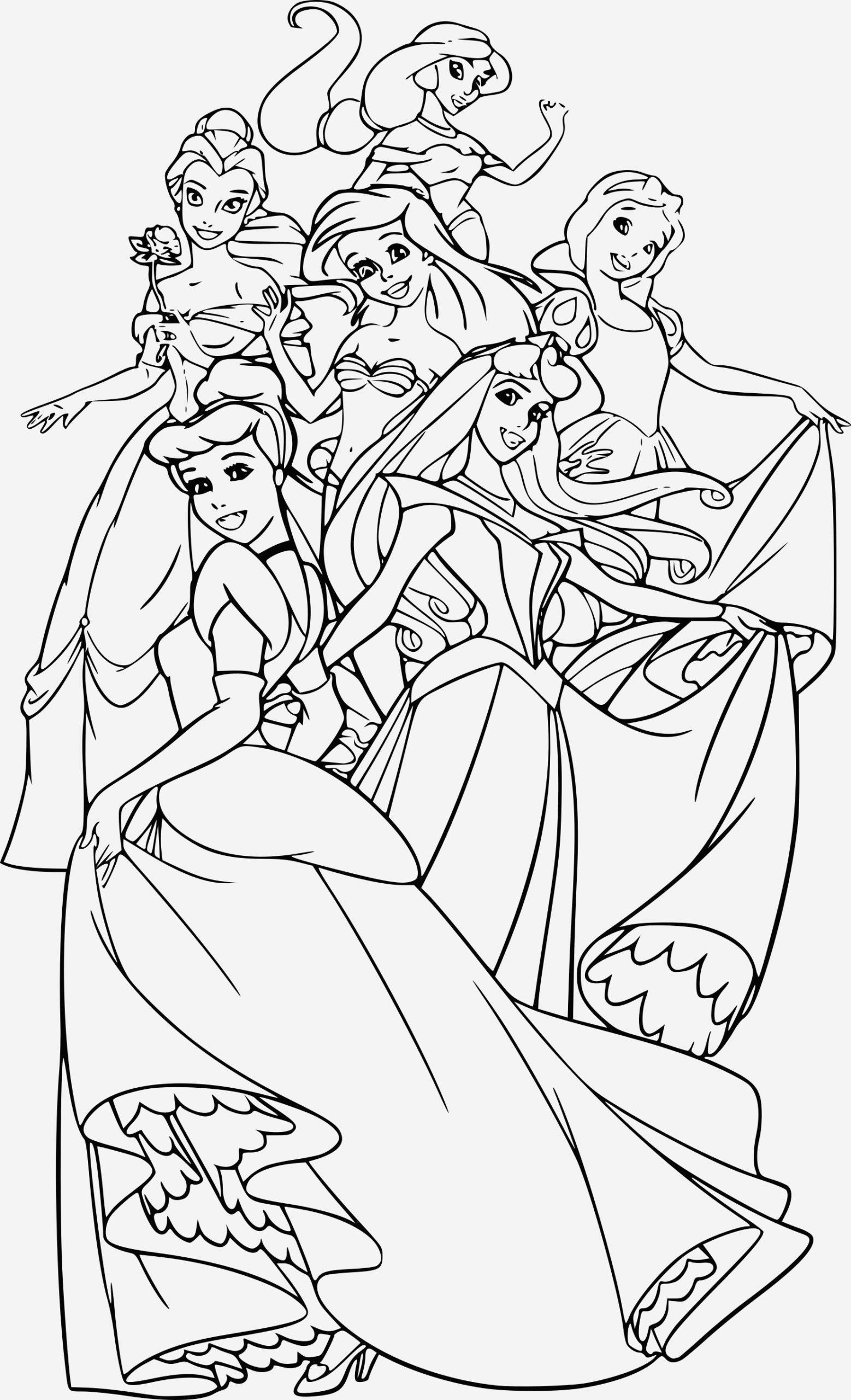 Coloriage Princesse Disney A Imprimer Pdf Archives avec Coloriage Princesses Disney À Imprimer