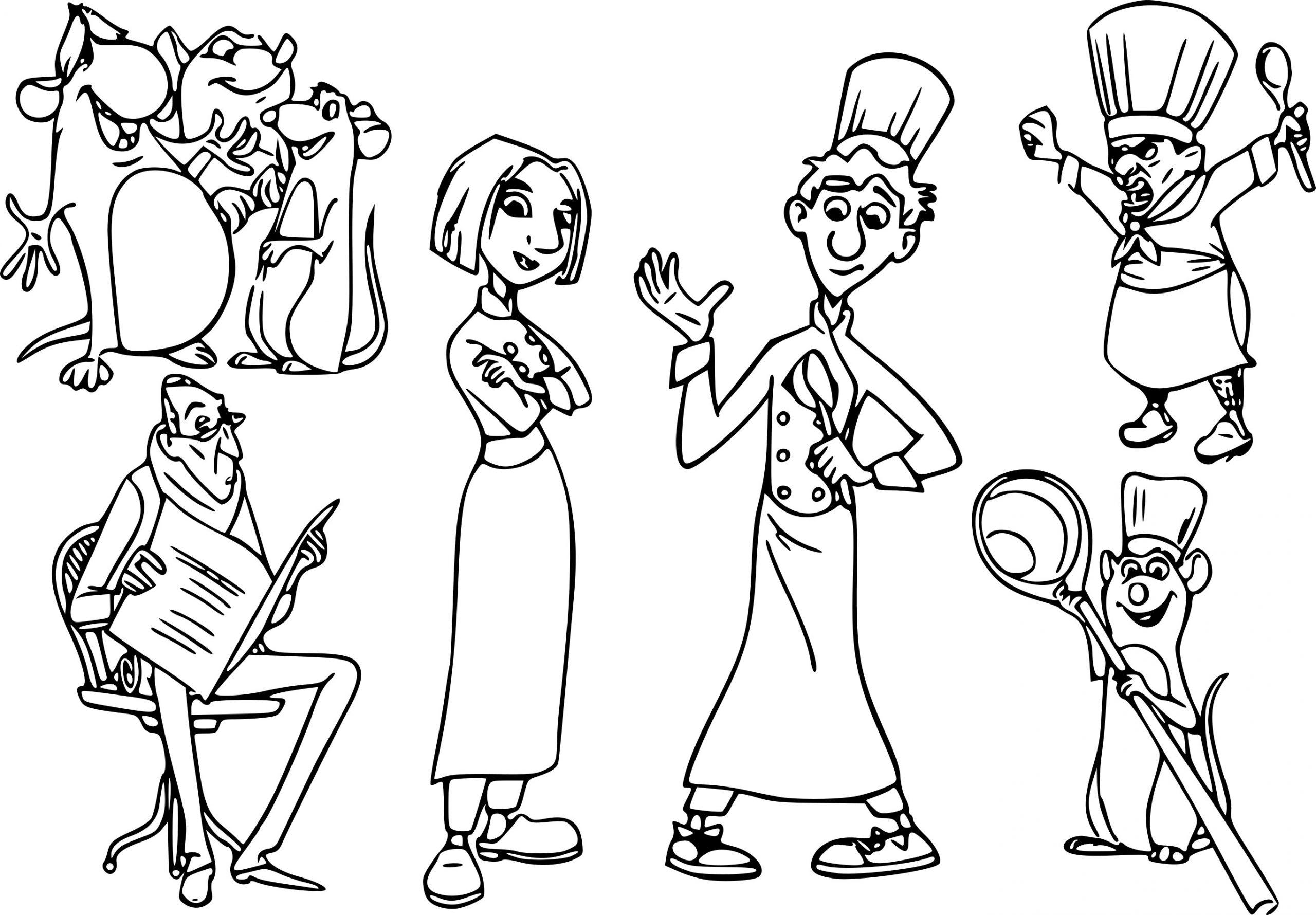 Coloriage Rauille Disney À Imprimer destiné Dessin Ratatouille