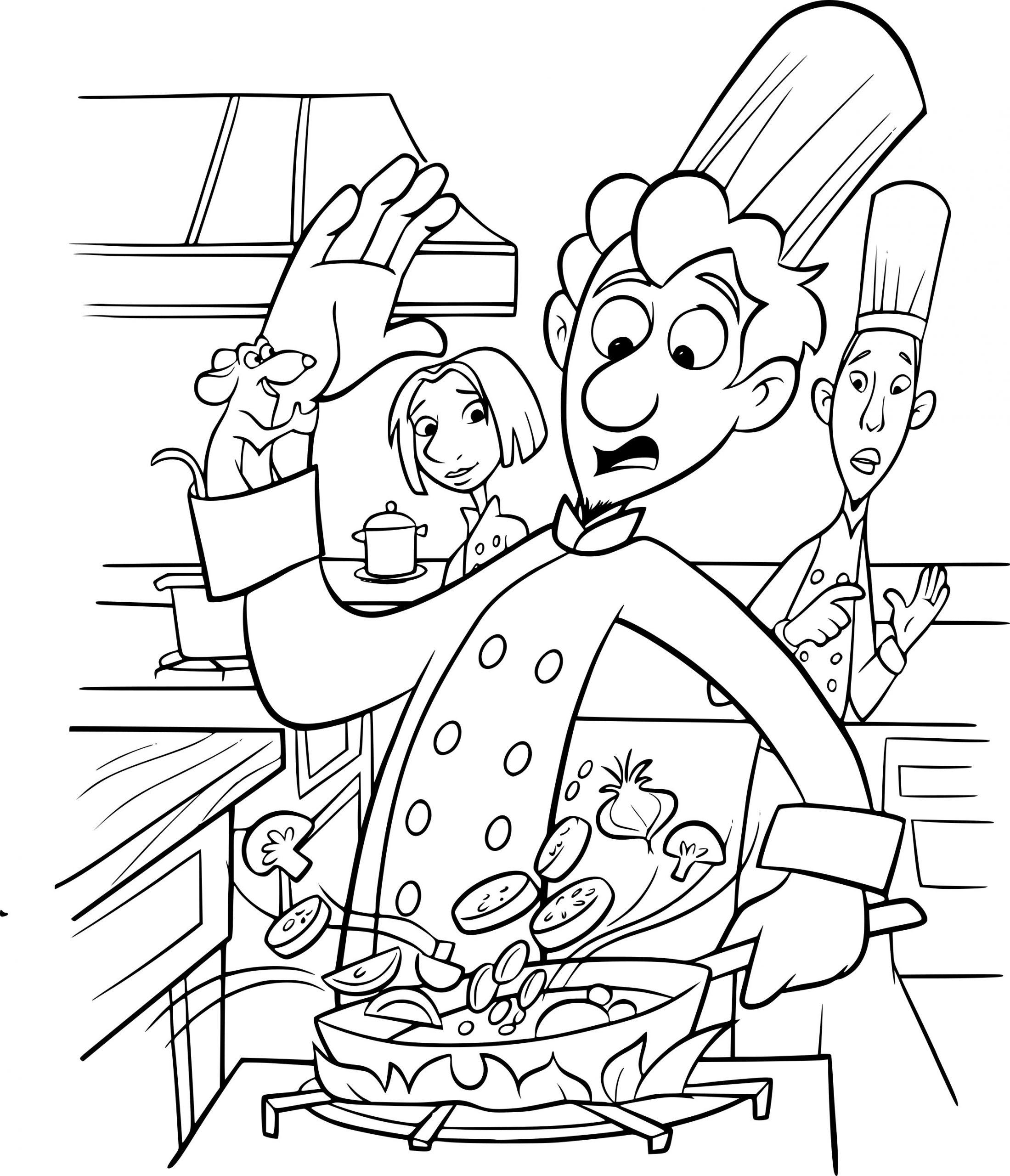 Coloriage Rauille Disney Dessin À Imprimer Sur concernant Dessin Ratatouille