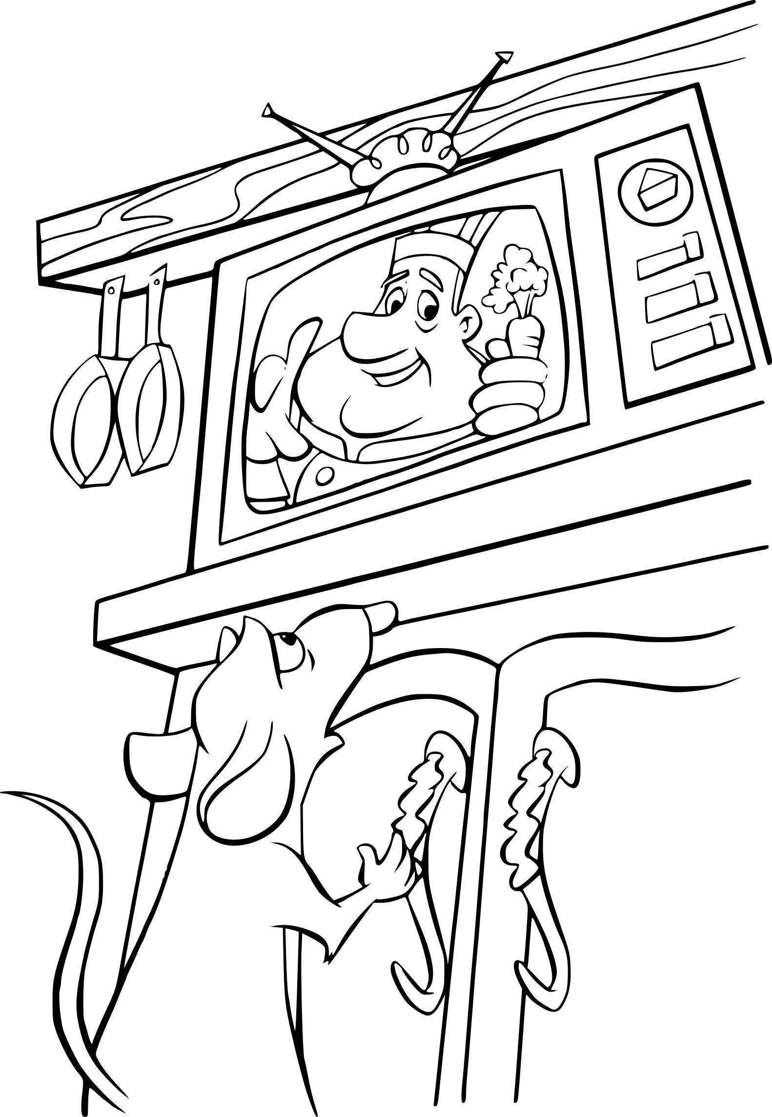 Coloriage Rauille Remy Dessin À Imprimer Sur Coloriages concernant Dessin Ratatouille