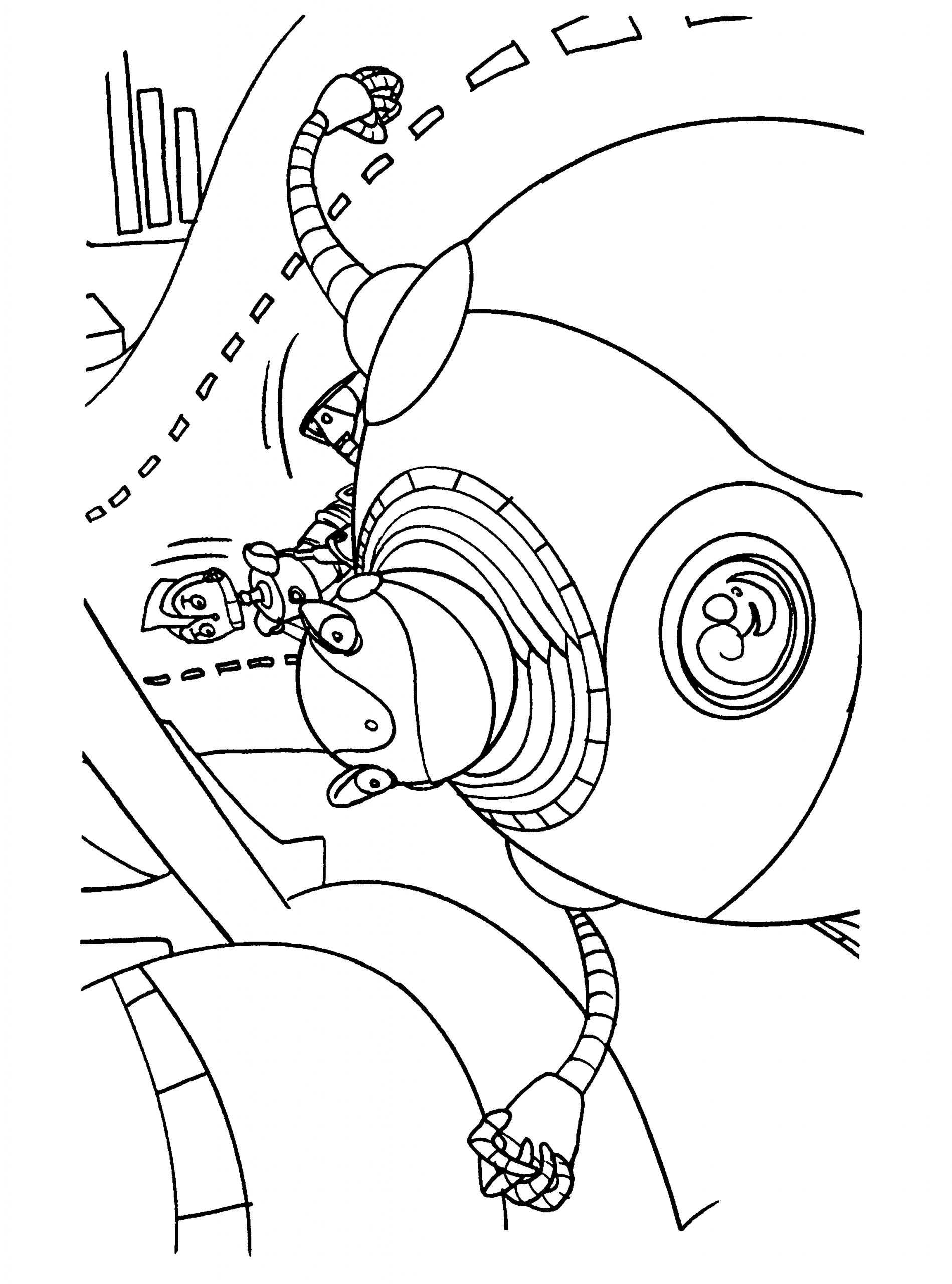 Coloriage Robots À Imprimer Sur Coloriages encequiconcerne Coloriage Robot À Imprimer