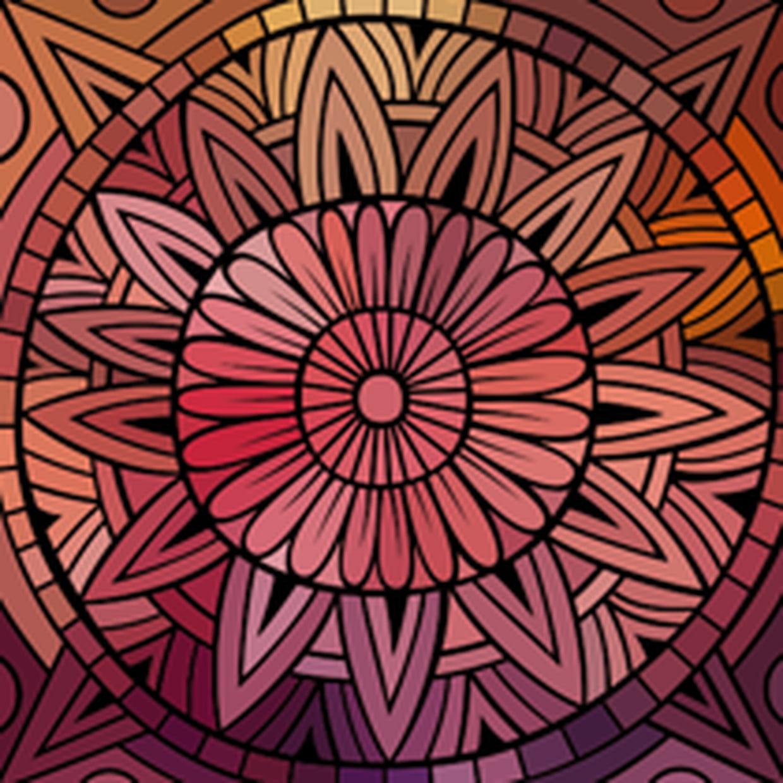 Coloriage Rosace Sur Hugolescargot pour Image De Rosace