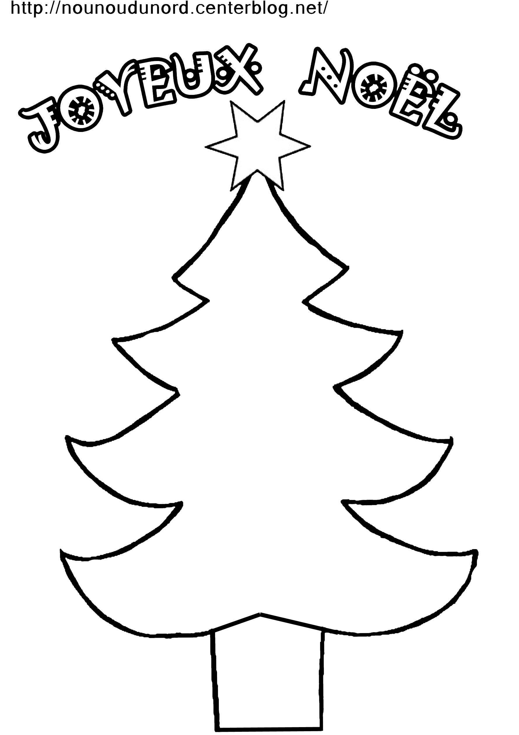 Coloriage Sapin De Noël dedans Coloriage De Sapin De Noel A Imprimer Gratuit