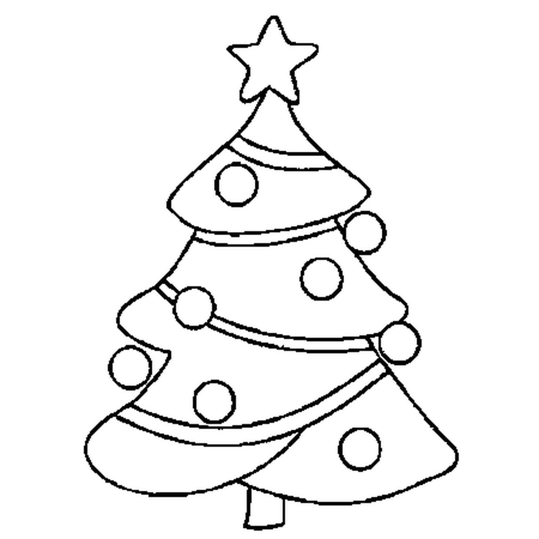 Coloriage Sapin De Noël En Ligne Gratuit À Imprimer intérieur Coloriage De Sapin De Noel A Imprimer Gratuit