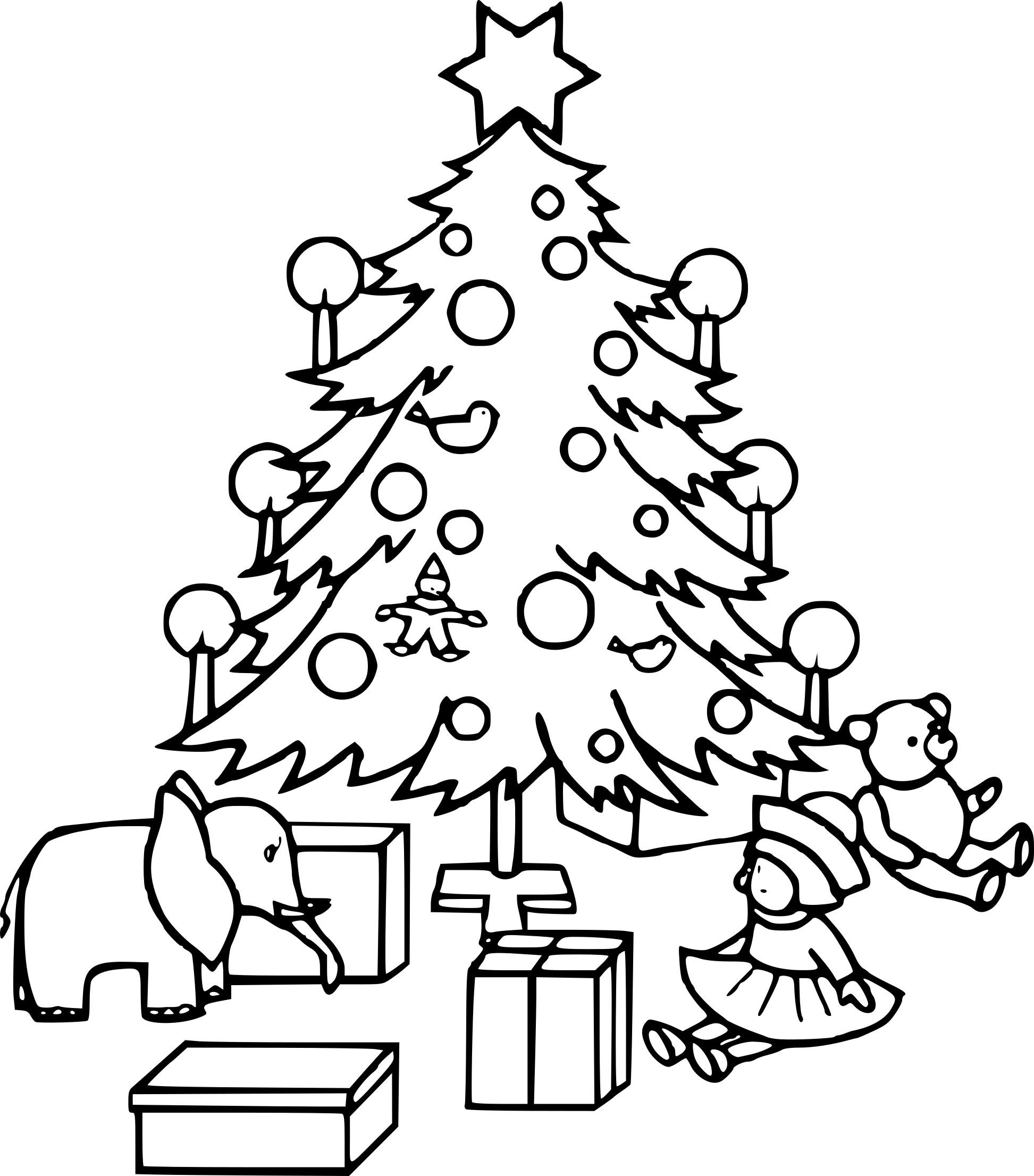 Coloriage Sapin De Noel Gratuit À Imprimer serapportantà Coloriage De Sapin De Noel A Imprimer Gratuit