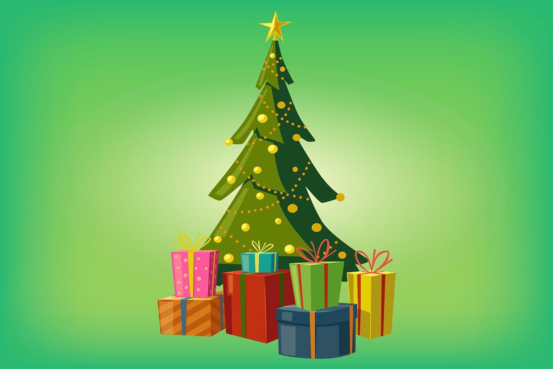 Coloriage Sapin De Noël Sur Hugolescargot pour Coloriage De Sapin De Noel A Imprimer Gratuit