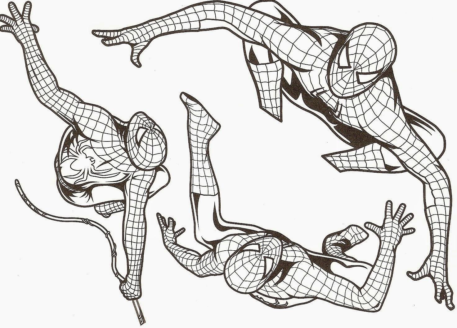 Coloriage Spiderman À Imprimer   Liberate intérieur Masque Spiderman A Imprimer